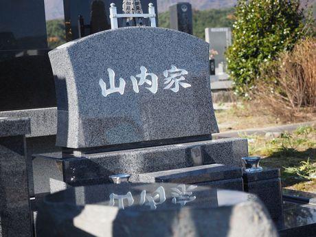 オリジナルデザインの洋型墓碑
